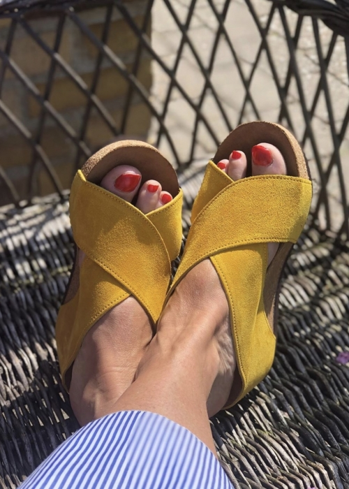 Frances sandal YELLOW