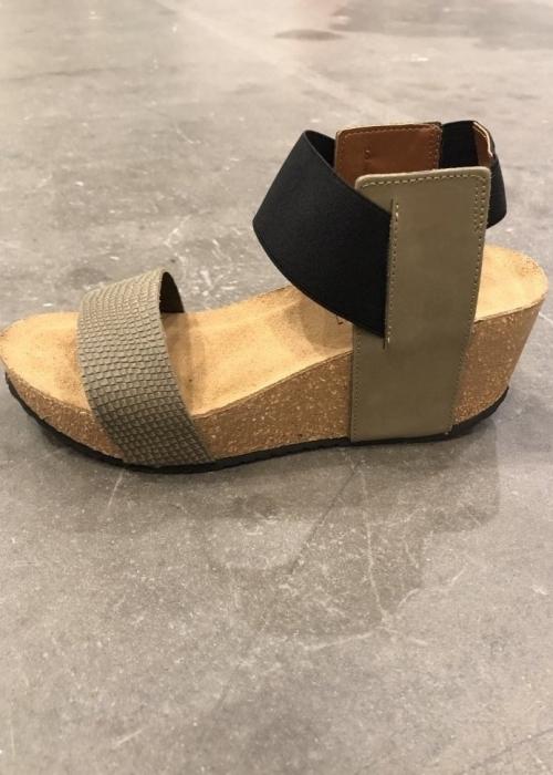 Daniela snake sandal GREEN