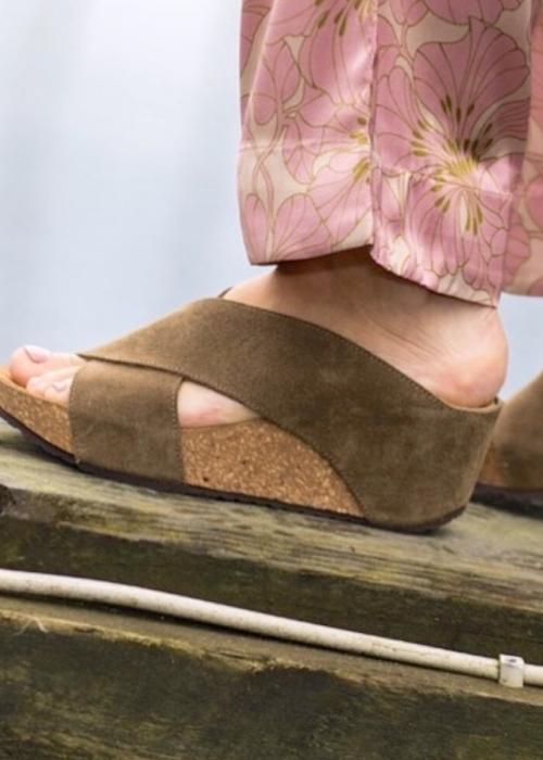 Frances sandal ANTILOPE