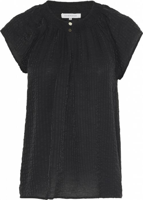 Laurel stripe blouse BLACK