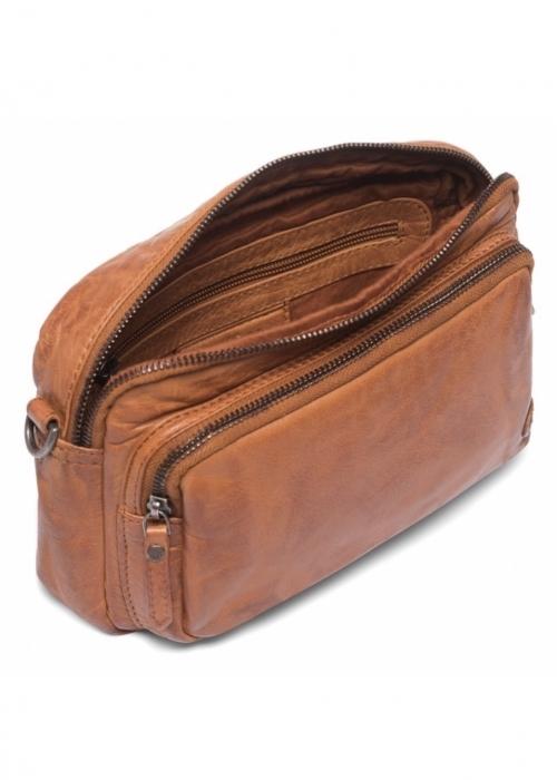 Crossover bag / 14154 VINTAGE COGNAC