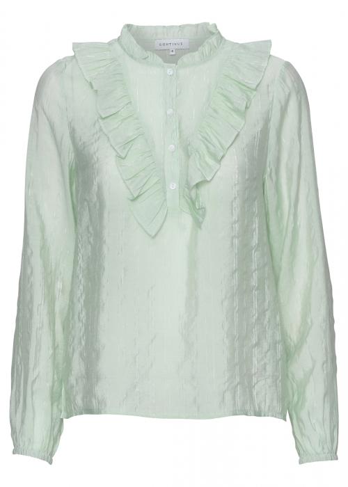 Amy cotton shirt AQUAREL