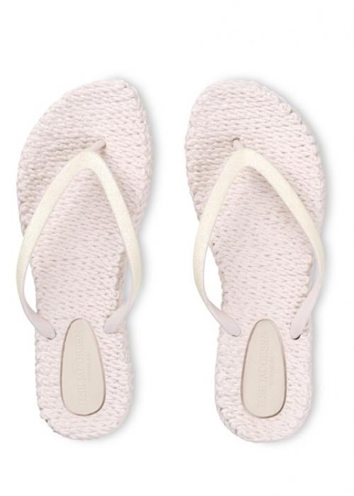 Flip flops med glitter ROSE