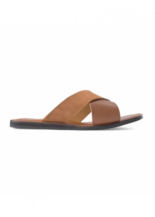 Tao slide sandal COGNAC