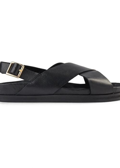 Famara cross sandaler BLACK