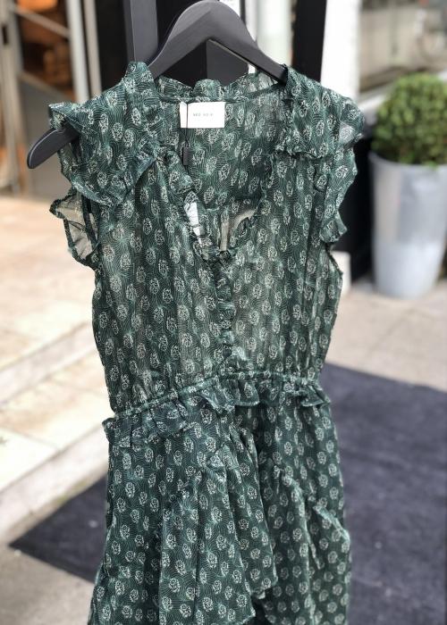 Selma dress DARK GREEN