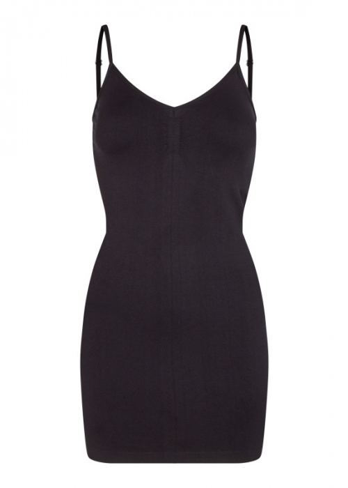 Ninna slip dress BLACK