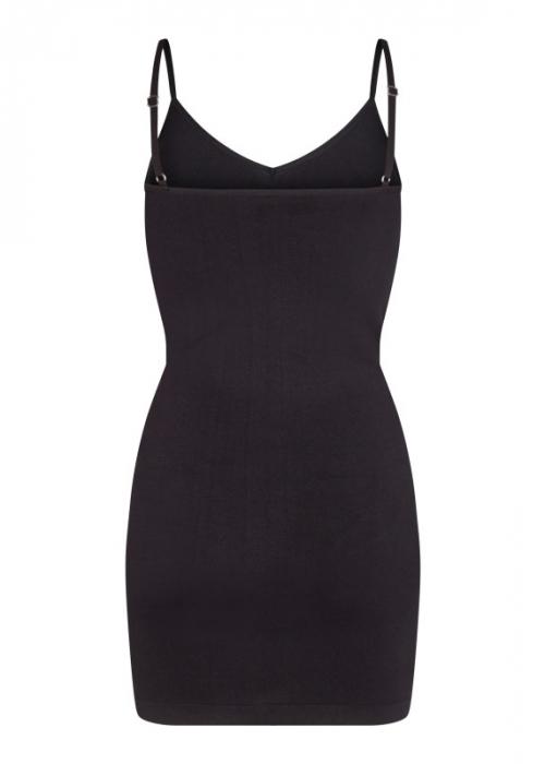Ninna slip dress BLACK