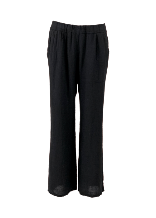 Lima linen pants BLACK