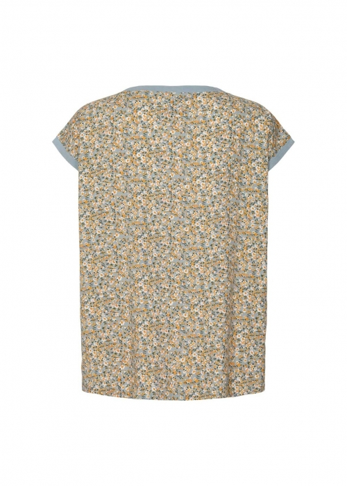 Krystal top SUMMER FLOWER PRINT
