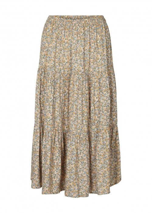 Morning skirt SUMMER FLOWER PRINT