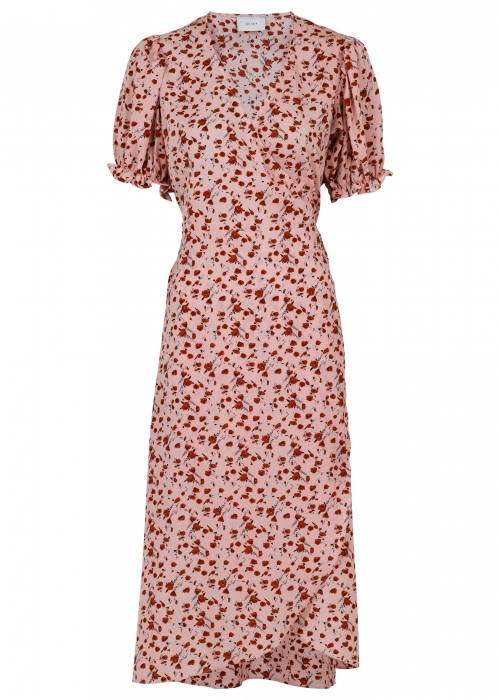 Carli flower dress ROSE