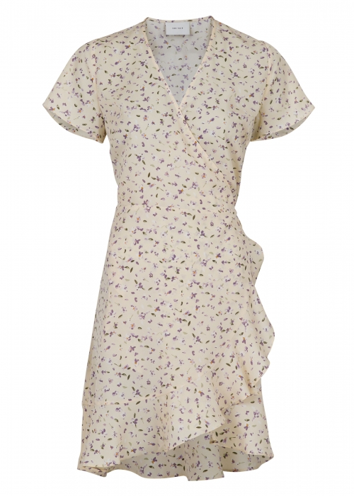 Malta flower garden dress CREME