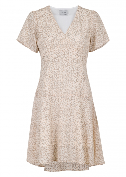 Dima mini tapestry dress CREME
