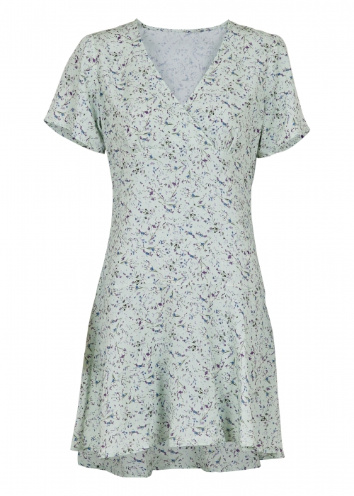 Dima abstract flower dress MINT