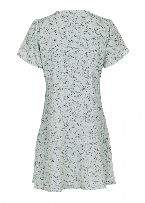 Dima abstract flower dress MINT