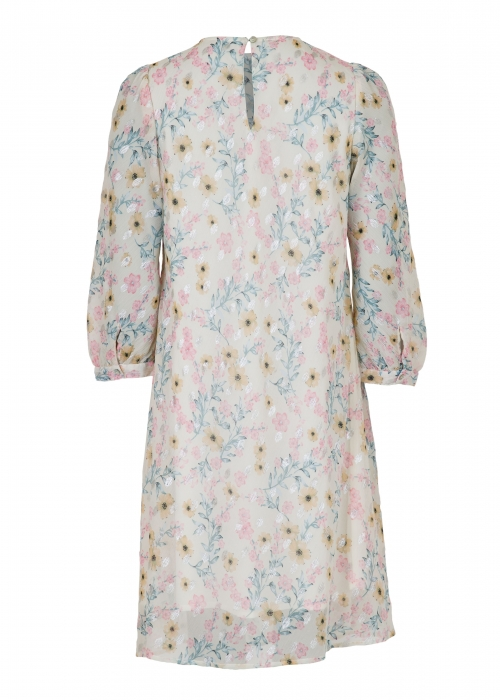 Penny dreamy flower dress CREME