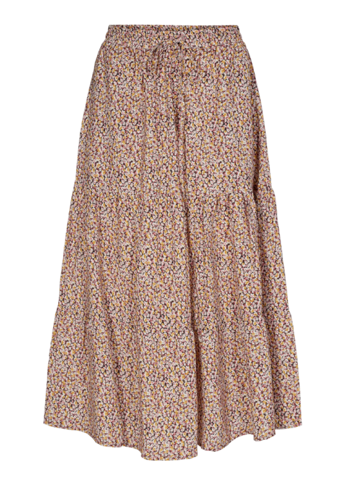 Solvej skirt FLOWER