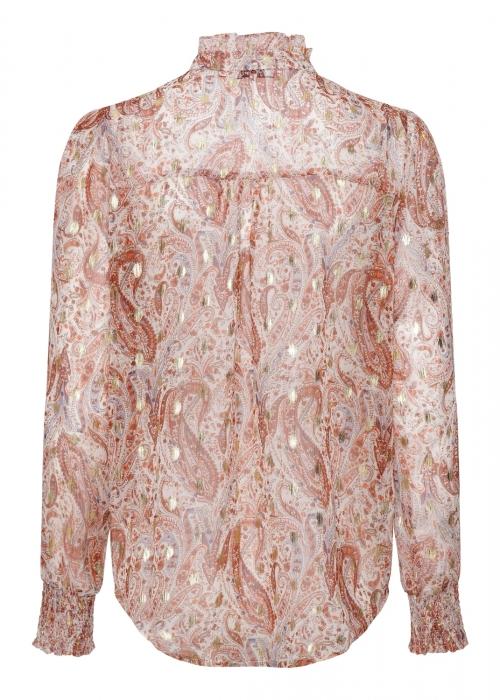 Asta blouse PAISLEY BURNT ORANGE