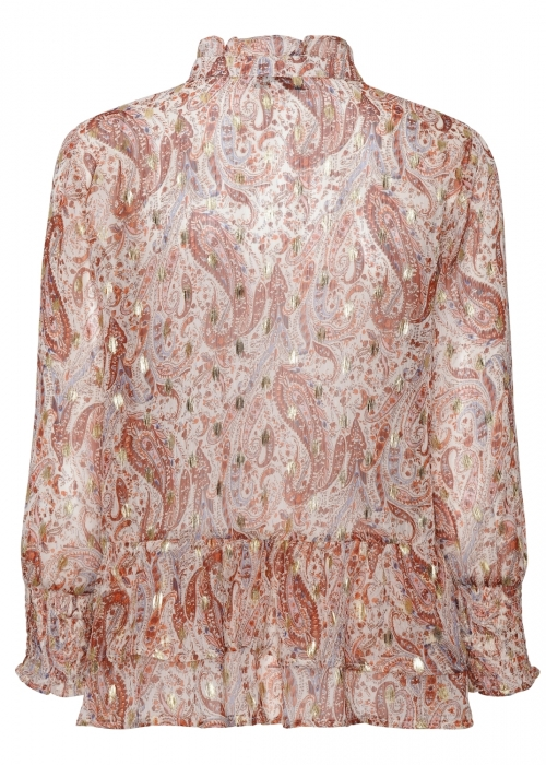 Harper shirt PAISLEY BURNT ORANGE