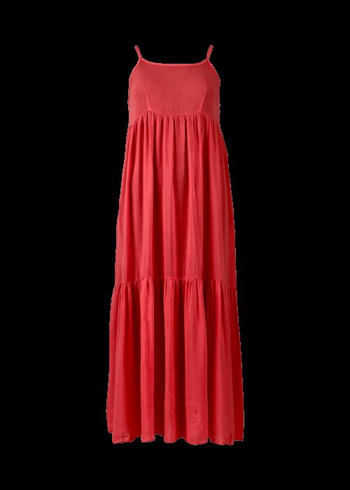 Vivi long strap dress CORAL