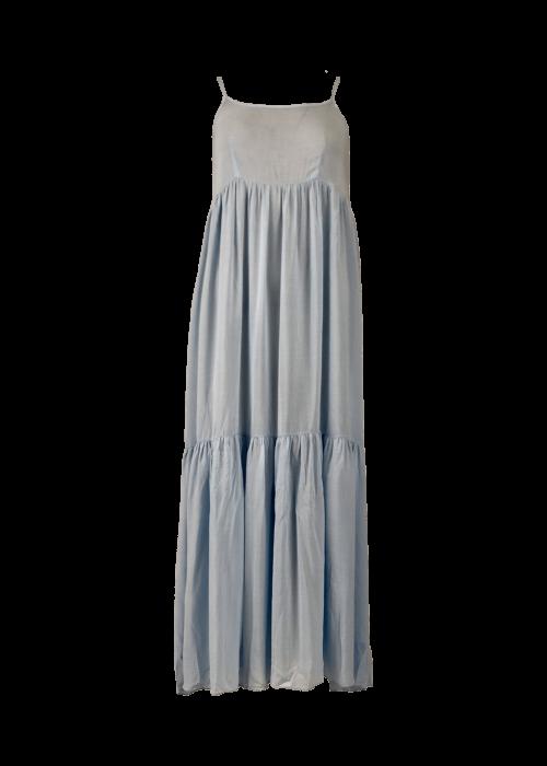Vivi long strap dress LT.BLUE