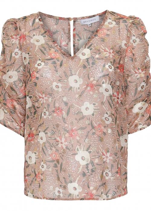 Chloé gold blouse SAND FLOWER
