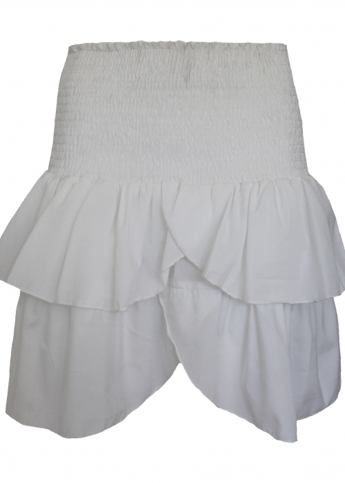 Carin skirt WHITE