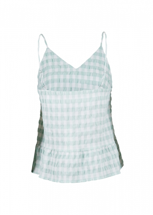 Airlia summer check top MINT
