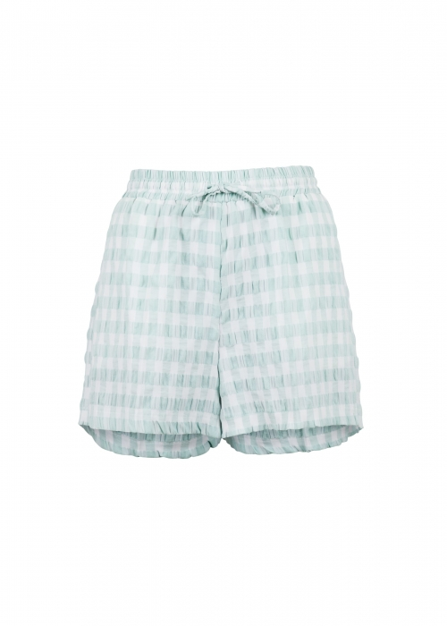 Abbigail summer check shorts MINT