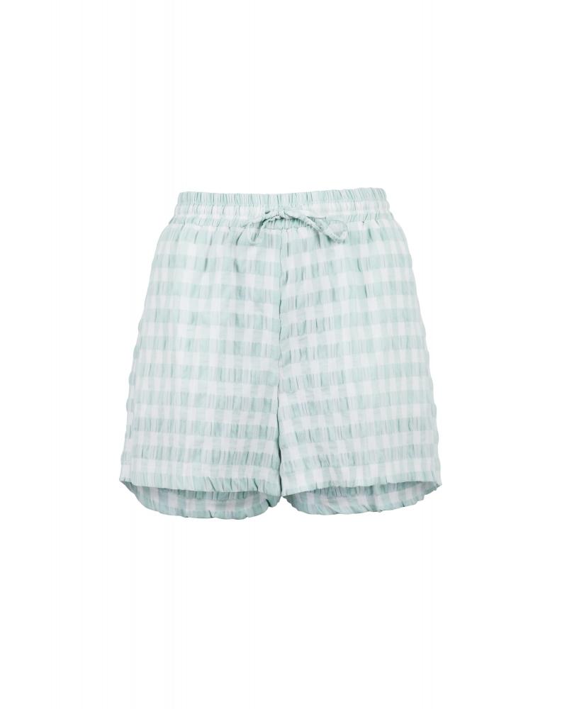 Abbigail summer check shorts MINT