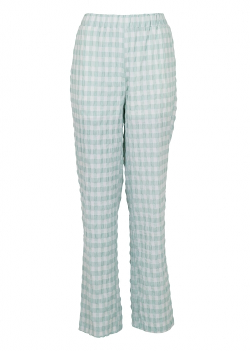 Zena summer check pants MINT