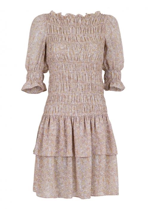 Byron printes dress LAVENDER