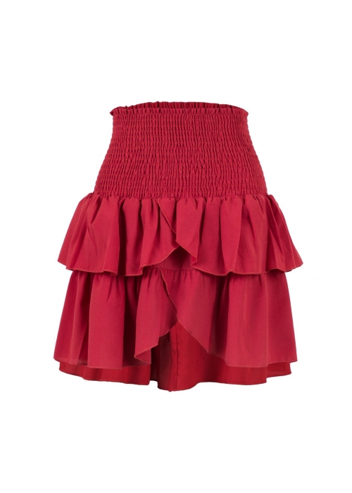 Carin skirt RASPBERRY