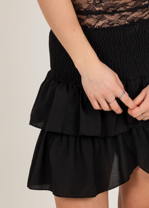 Carin skirt BLACK