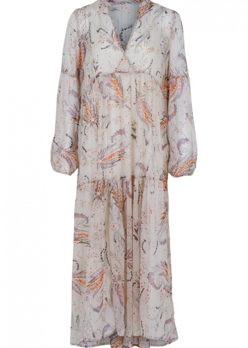 Miles exotic flower dress CREME