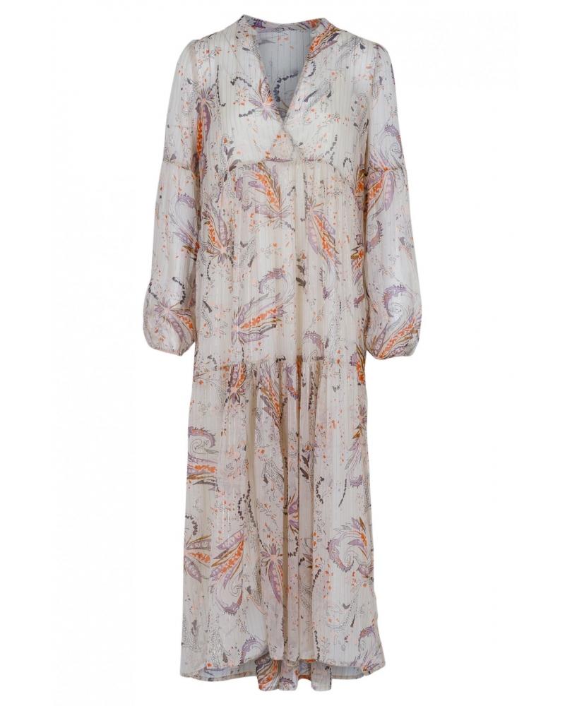 Miles exotic flower dress CREME