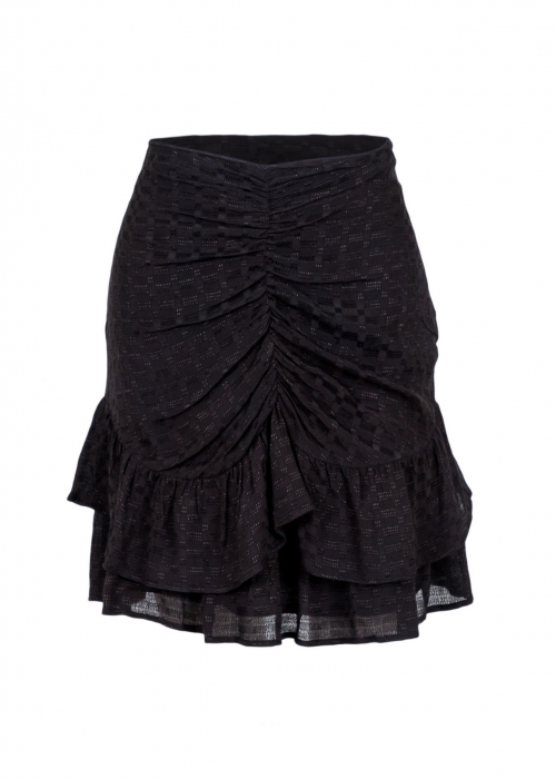 Daisie soya skirt BLACK