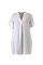 Lima linen tunic dress WHITE