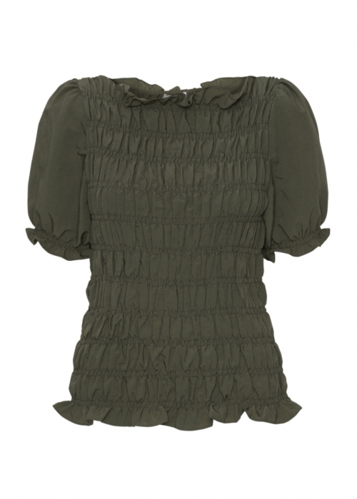 Julia ss smock top ARMY