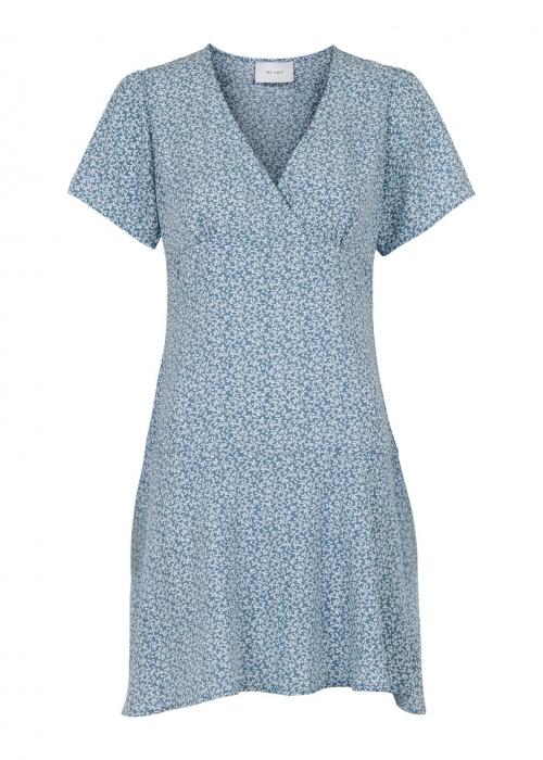 Dima vintage flower dress BLUE
