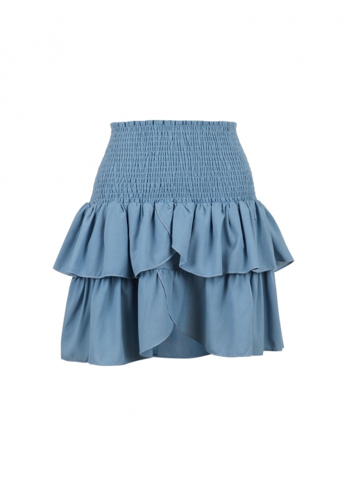 Carin skirt BLUE WAVE