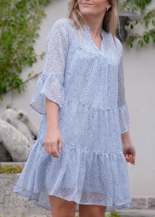 Gunvor sparkle dress LIGHT BLUE (Preorder midt juli)