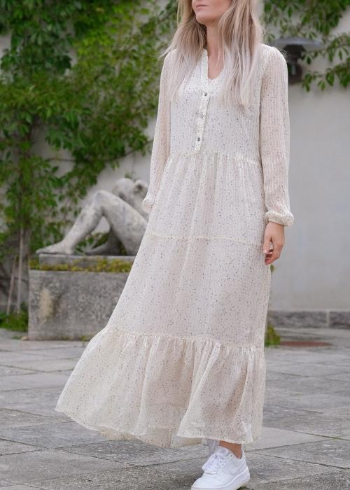 Nobis sparkle dress CREME (preorder midt juli)
