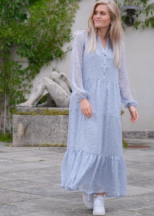 Nobis sparkle dress LIGHT BLUE (preorder midt juli)