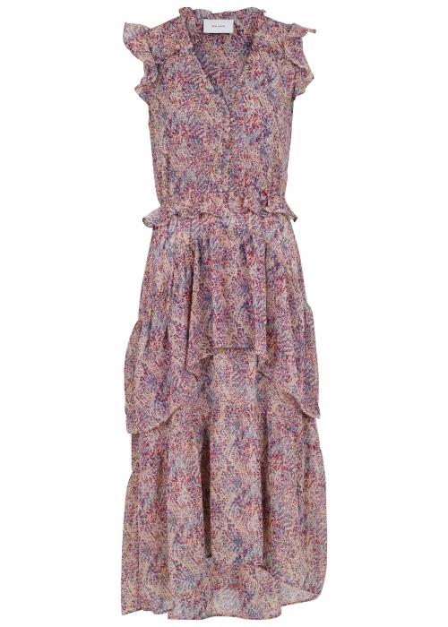 Selma Flower Crush Dress LAVENDER