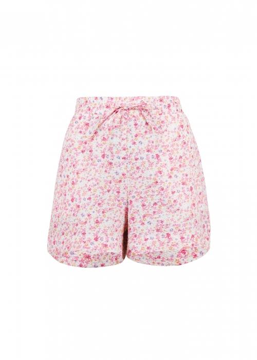 Abbigail summer floral shorts LIGHT PINK