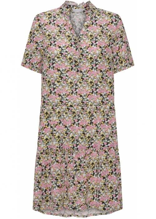 Laureen s/s dress MULTI GREEN FLOWER
