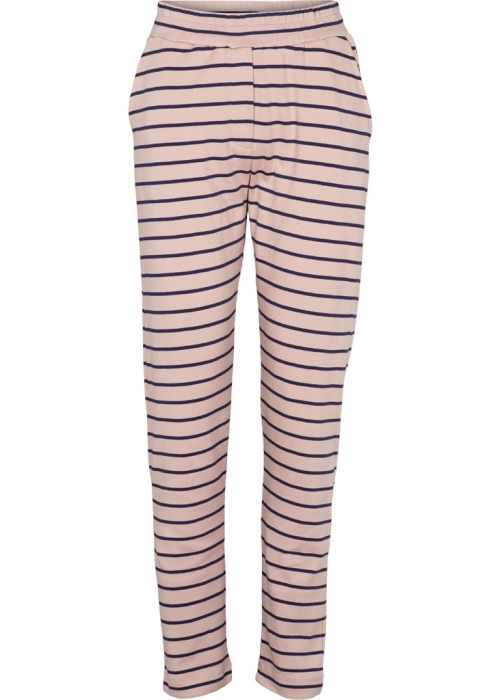 Saga striped pant DUSTY ROSE/NAVY
