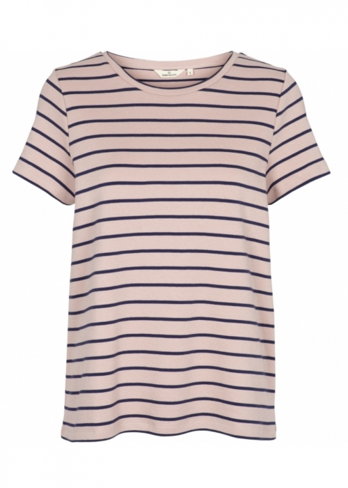 Dotte striped tee DUSTY ROSE/NAVY